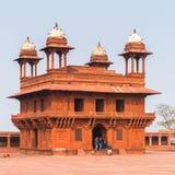 Fatehpur Sikri, miasto w Agra okręgu Uttar Pradesh, Wewnątrz Obrazy Stock