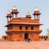 Fatehpur Sikri, miasto w Agra okręgu Uttar Pradesh, Wewnątrz Obraz Royalty Free
