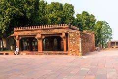 Fatehpur Sikri, miasto w Agra okręgu Uttar Pradesh, Wewnątrz Zdjęcie Stock