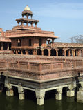 Fatehpur Sikri near Agra in India. Fatehpur Sikri is an historical city was constructed by Mughal emperor Akbar beginning in 1570 and served as the empire's Royalty Free Stock Image