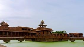 Fatehpur sikri Panch Mahal Timelapse w Delhi, India zdjęcie wideo