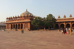 Fatehpur Sikri przez ludzi, Fotografia Royalty Free