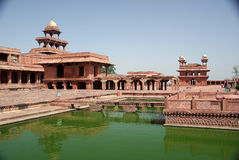Fatehpur Sikri, Rajasthan Royalty-vrije Stock Afbeeldingen