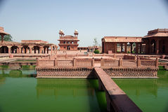 Fatehpur Sikri, Rajasthan. The ghost city of Fatehpur Sikri in Rajasthan, India Royalty Free Stock Photo