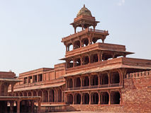 Fatehpur Sikri, Rajasthan. Part of the sixteenth century city of Fatehpur Sikri in Rajasthan, India which was built to be the political capital of India. It was Stock Image