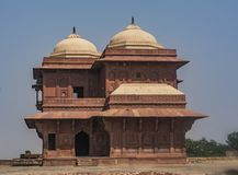 Fatehpur Sikri - ruinas antiguas en la India ASCENDENTE fotos de archivo libres de regalías