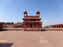 Fatehpur Sikri is a subdivision of India, located in the district of Agra, in the state of Uttar Pradesh, India royalty free stock photo