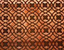 Fatehpur Sikri temple window, India. Beautiful window ornament in the Fatehpur Sikri temple complex in Rajasthan, India stock photography