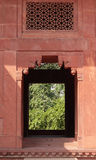 Fatehpur Sikri: the treasury. In the abandoned capital city of Mughal emperor Akbar Royalty Free Stock Photo