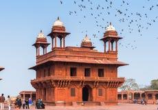 Fatehpur Sikri, uma cidade no distrito de Agra de Uttar Pradesh, dentro fotos de stock