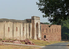 Fatehpur Sikri: unrestored building. Part of the abandoned capital city of Mughal emperor Akbar Stock Photo