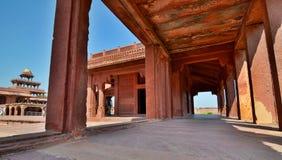 Fatehpur Sikri Uttar Pradesh india Royaltyfri Bild