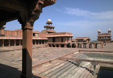 Fatehpur Sikri - Uttra Pradesh - India Stock Afbeelding