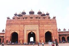 Fatehpur sikrifort och slott Indien Royaltyfri Bild
