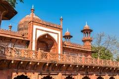 Fatehpuri Masjid, meczet blisko Taj Mahal w Agra, India Obraz Stock