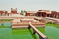 fatehpurindia sikri Arkivbild
