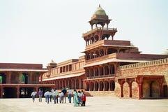 fatehpurindia sikri Arkivfoto