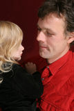 Fater and daughter Stock Photography