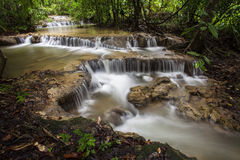 Faterfall in rain forest Royalty Free Stock Photo