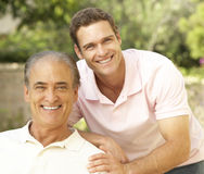 Free Father And Adult Son Stock Images - 12407514