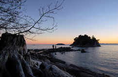 Free Father And Daughter At Whytecliff Park Royalty Free Stock Photography - 1754567