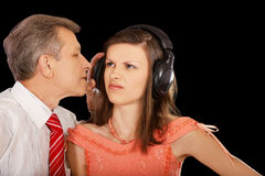 Free Father And Displeased Daughter Stock Photos - 16458913