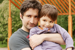 Free Father And Son Stock Photos - 14390823