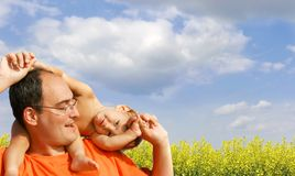 Free Father And Son Stock Photography - 6137922