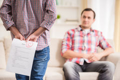 Free Father And Son At Home Stock Photo - 55346030