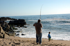 Free Father And Son Fishing Royalty Free Stock Photo - 341605