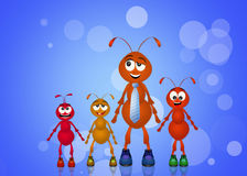 Father ant Royalty Free Stock Image