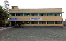 Father Ante Gabric Memorial School in Kumrokhali, West Bengal, India. The school is named after a famous Croatian Jesuit missionary Ante Gabric Stock Images