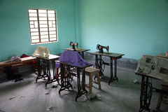 Father Ante Gabric Memorial School in Kumrokhali, West Bengal, India Royalty Free Stock Images