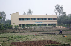 Father Ante Gabric Memorial School in Kumrokhali, West Bengal, India Stock Image