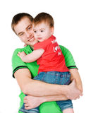 Father with baby Royalty Free Stock Photos