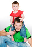 Father with baby Royalty Free Stock Photo