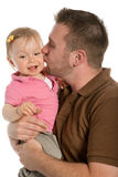 Father and baby girl Royalty Free Stock Images
