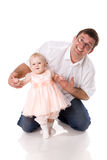 Father with baby girl Royalty Free Stock Photo