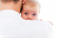 Father with baby. Royalty Free Stock Photos