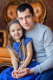 Father with the beloved daughter Royalty Free Stock Photo