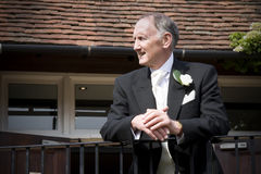 Father of the bride Royalty Free Stock Photography