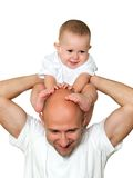 Father and child Royalty Free Stock Image