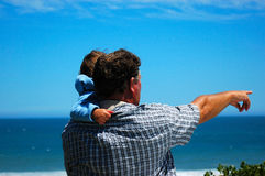 Father and child Royalty Free Stock Photos