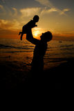 Father and child Royalty Free Stock Photo