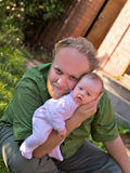 Father with child Royalty Free Stock Photography