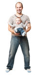 Father and child Stock Photo