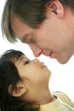 Father and child bonding Stock Photography