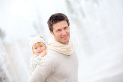 Father and child Royalty Free Stock Photography