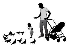Father with child Royalty Free Stock Images