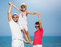 Summer, family concept. royalty free stock photography